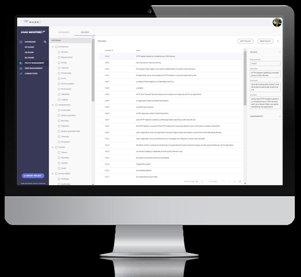 SecDevOps Policy Based Design