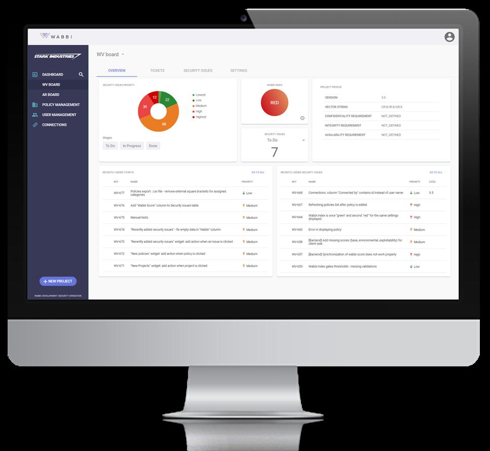SecDevOps Policy-Based Vulnerability Management